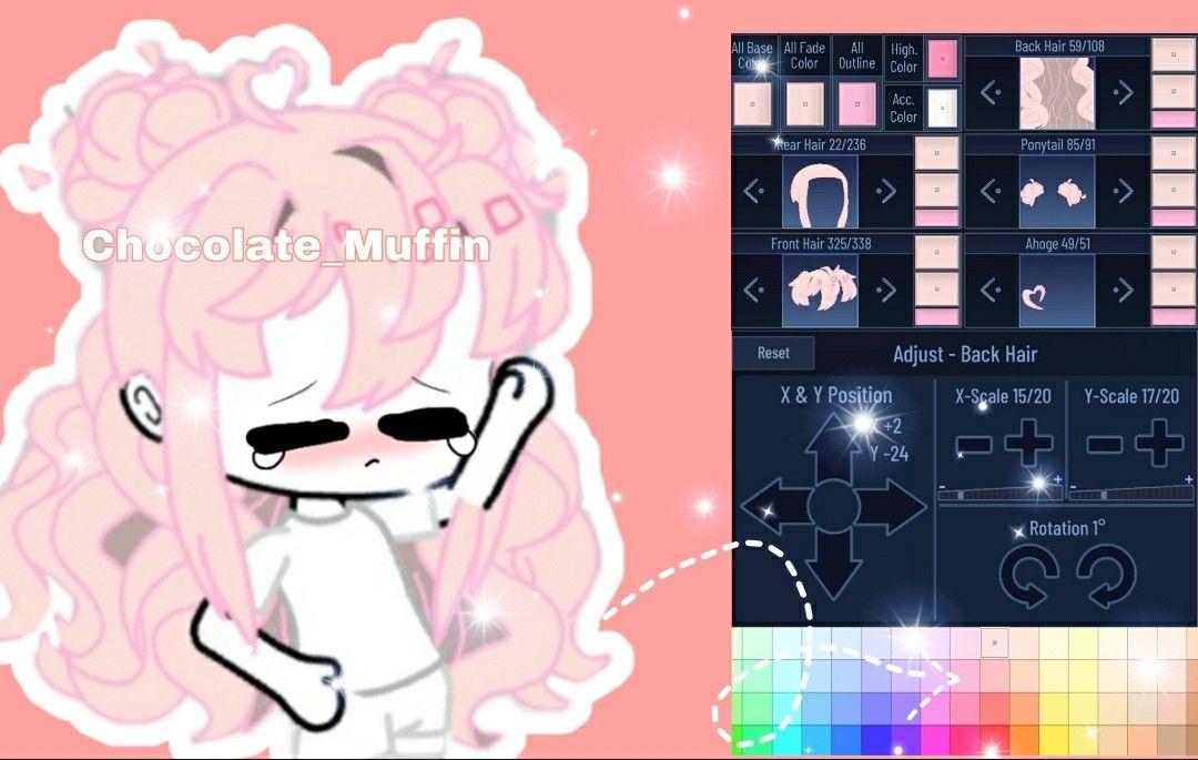 Gacha Club Hair Ideas 3 Club Hairstyles Club Outfits Anime Accessories