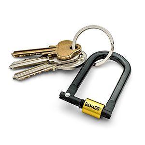 U Lock Key Ring Key Rings