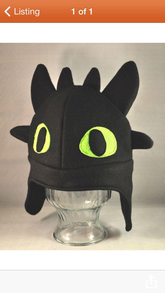Love this Toothless hat for Ben s dragon costume! Arte De Costura 9aa7d65268c