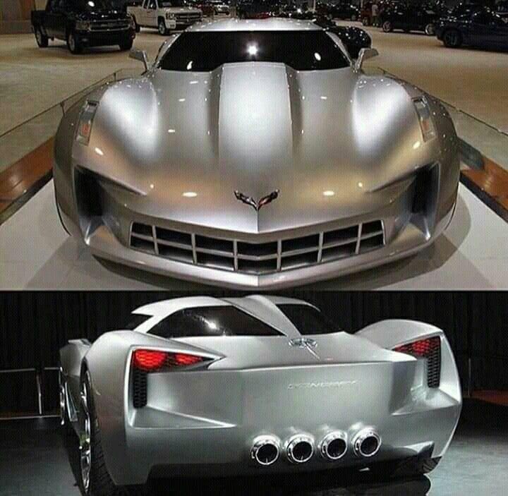 Super Cars, Corvette