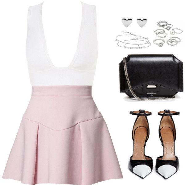 Untitled #102 by luvee on Polyvore featuring Just Cavalli, Givenchy, Candie's and Thomas Sabo