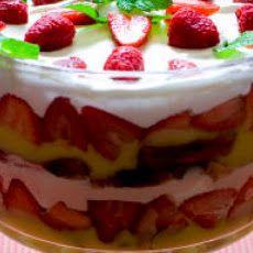 Layered Angel Food and Strawberry Dessert Recipe