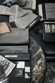 Image result for interior silver metal and blue swatch board