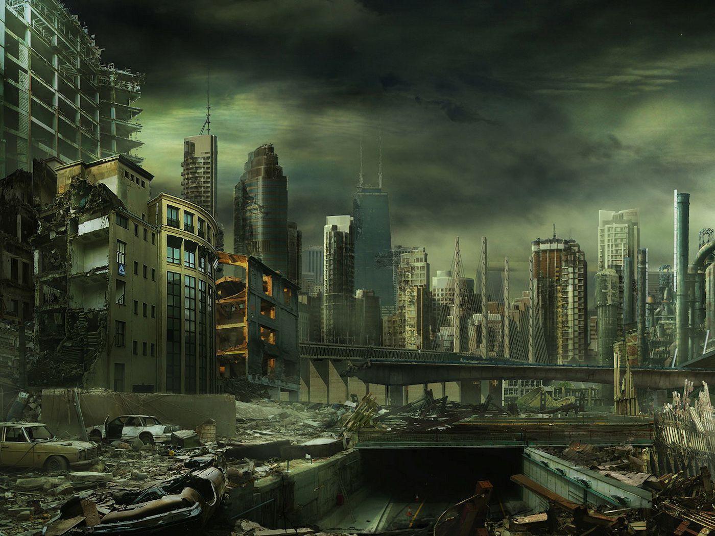 Pin By Caitlin Campbell On Zompocalypse Post Apocalyptic City Post Apocalyptic Abandoned City