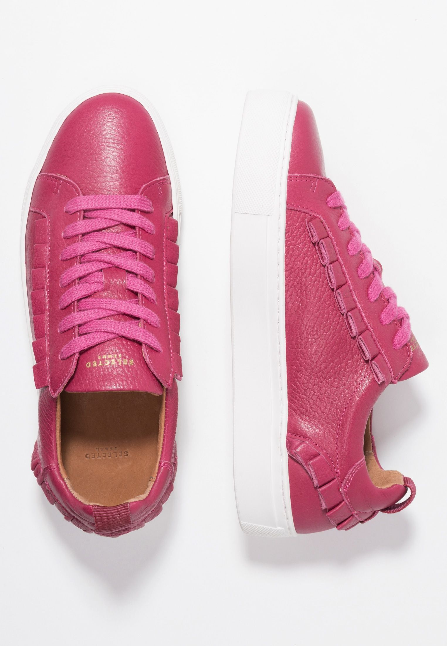 9d6a1089 Selected Femme SLFDONNA FRILLS TRAINER - Sneakers laag - love potion -  Zalando.be