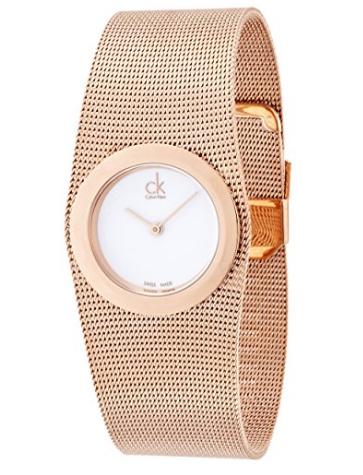 52561100aef4a Calvin Klein Femme Montre bracelet quartz analogique en acier inoxydable  k3t23626 - To buy on Amazon---> click Visit