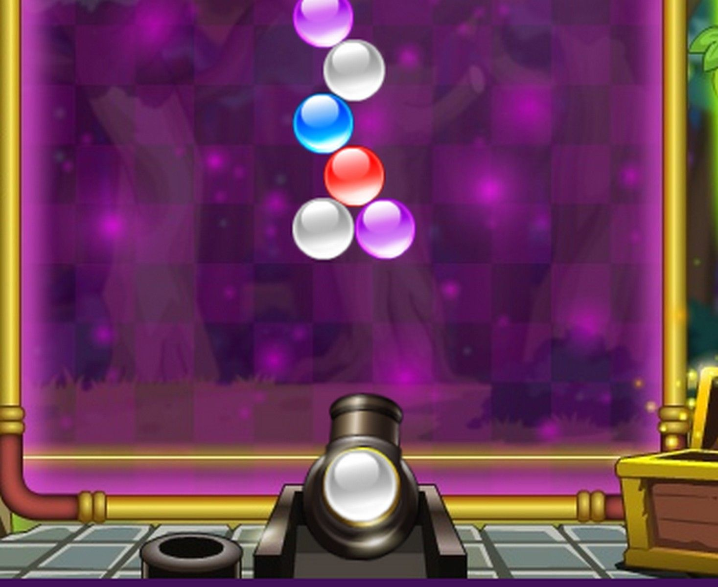 Bubble Shooter Puzzle game shoot bubbles up and create 3