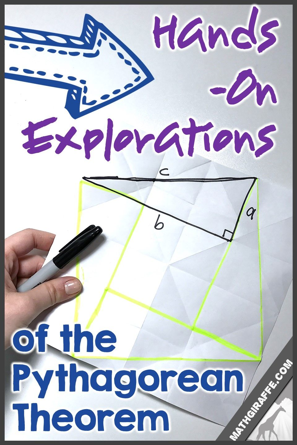 Hands-On Explorations, Activities, & Ideas for Pythagorean Theorem ...