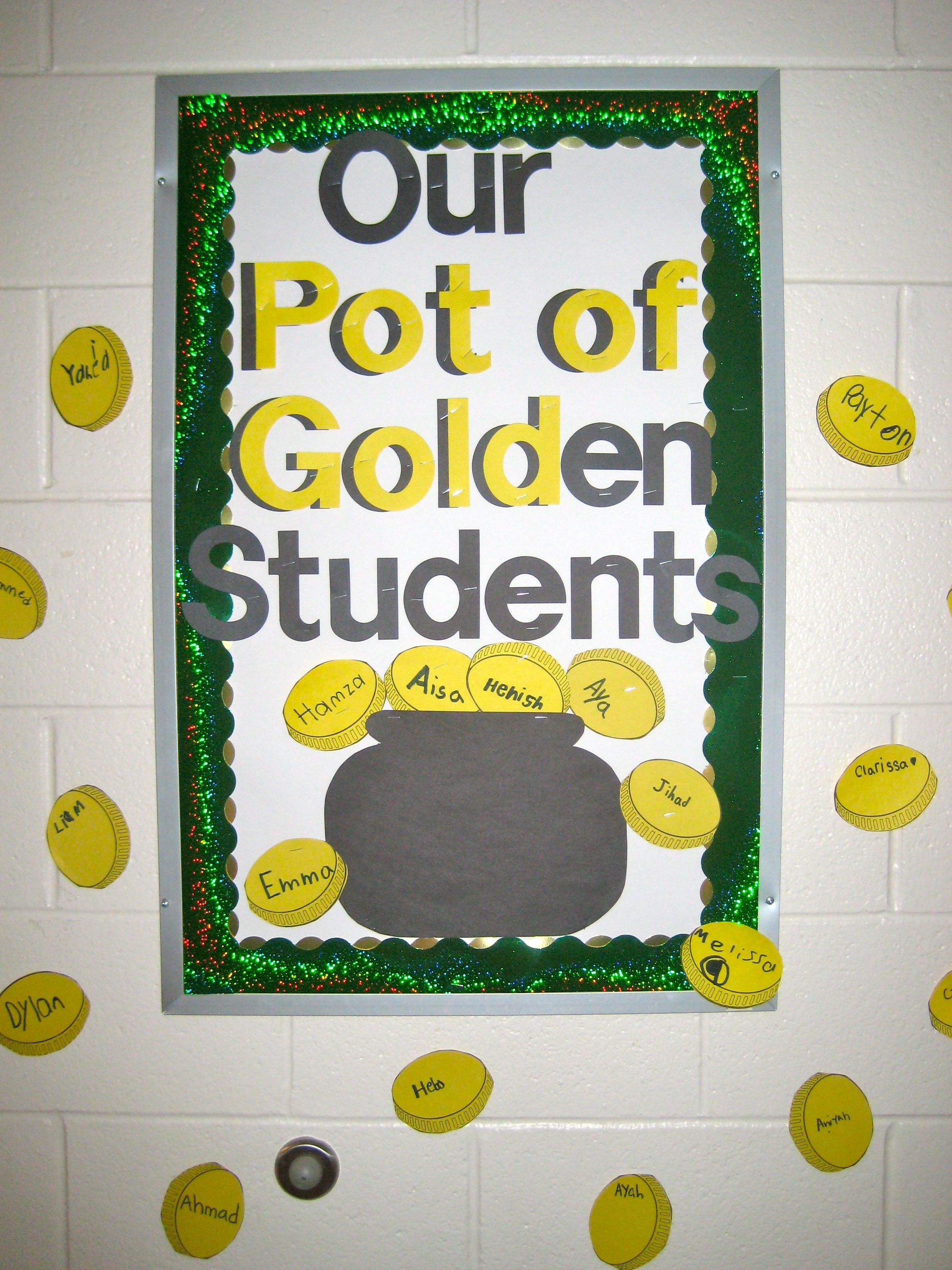 St. Patrick's Day Bulletin Board | ideas for the daycare ...