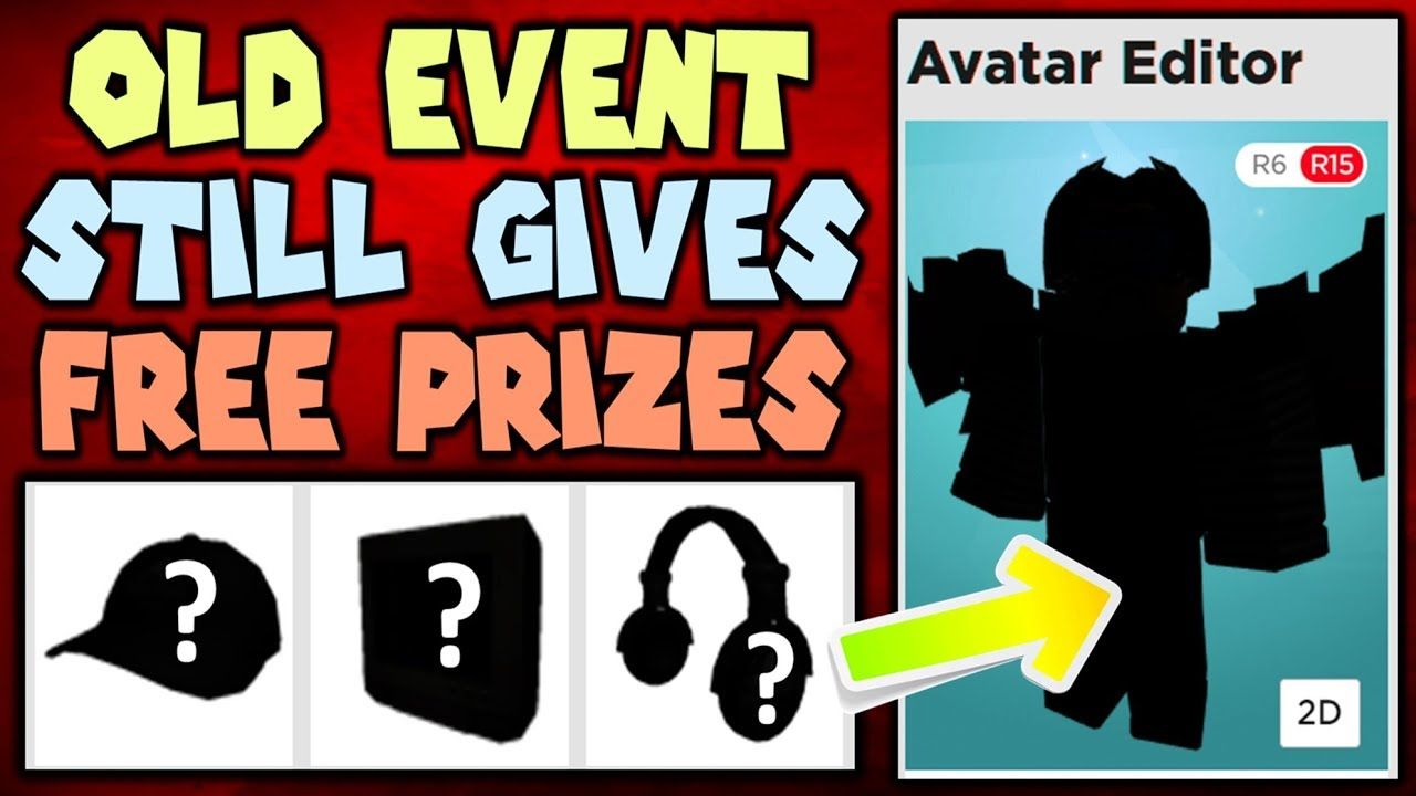These Forgotten Roblox Events Still Give You Prizes Hows It