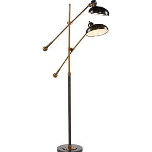 Modern Steel Flat Head Balance Arm Floor Lamp | http://corbytown ...