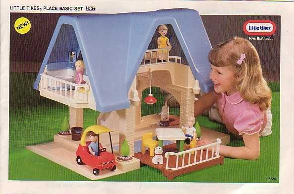 Little Tikes Dollhouse With Tons Of Accessories Childhood