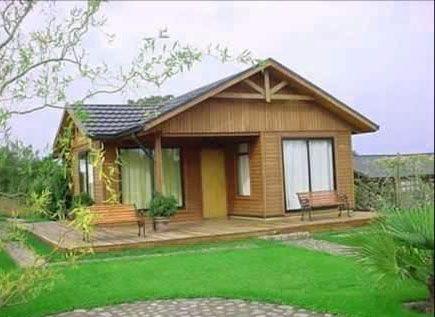 Casetas de madera pequeas casas de madera terminadas esta - Casetas de campo ...
