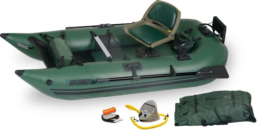 Sea Eagle 285fpb 1 Person Inflatable Fishing Boat Package Prices Starting At 799 Plus Free Shipping Pontoon Boat Fishing Boats Boat