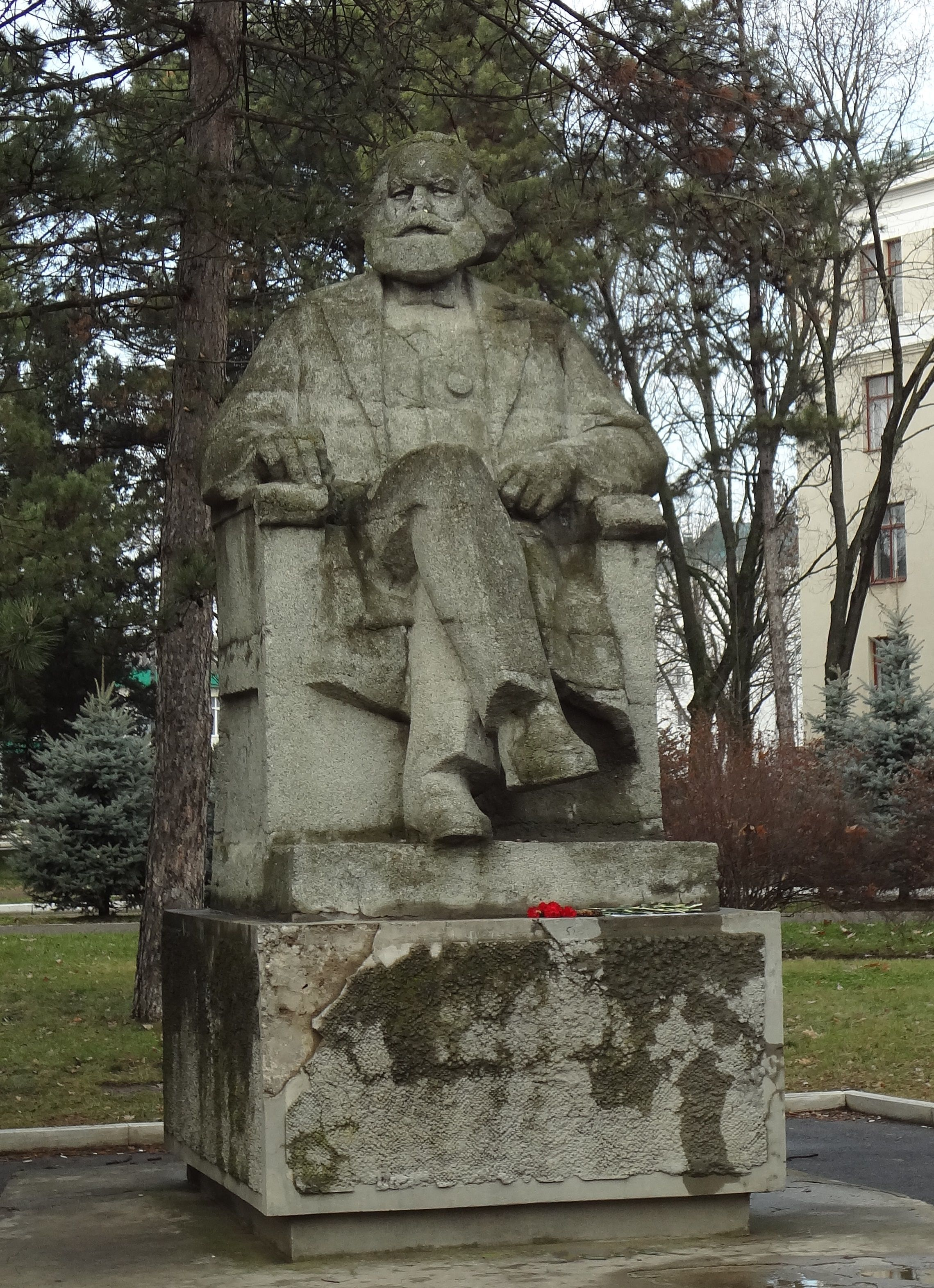 Cccp Monument To Karl Marx In On The Territory Of The Kuban State Agrarian University At Kalinin Street 13 In Krasnodar Russia Monument Statue Buddha Statue