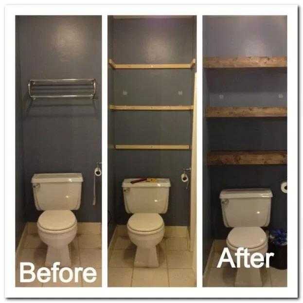 35 Amazing Bathroom Decor Design Ideas 13 Frequence3 Org Bathroom Design Decor Wooden Bathroom Shelves Diy Bathroom