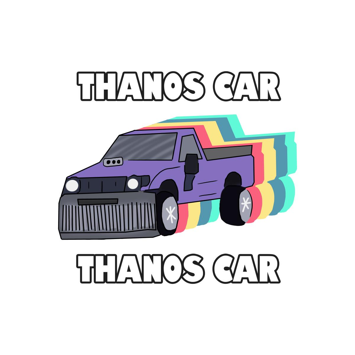 Thanos Car Barnyardy S Artist Shop Pickup Trucks Car Toy Car