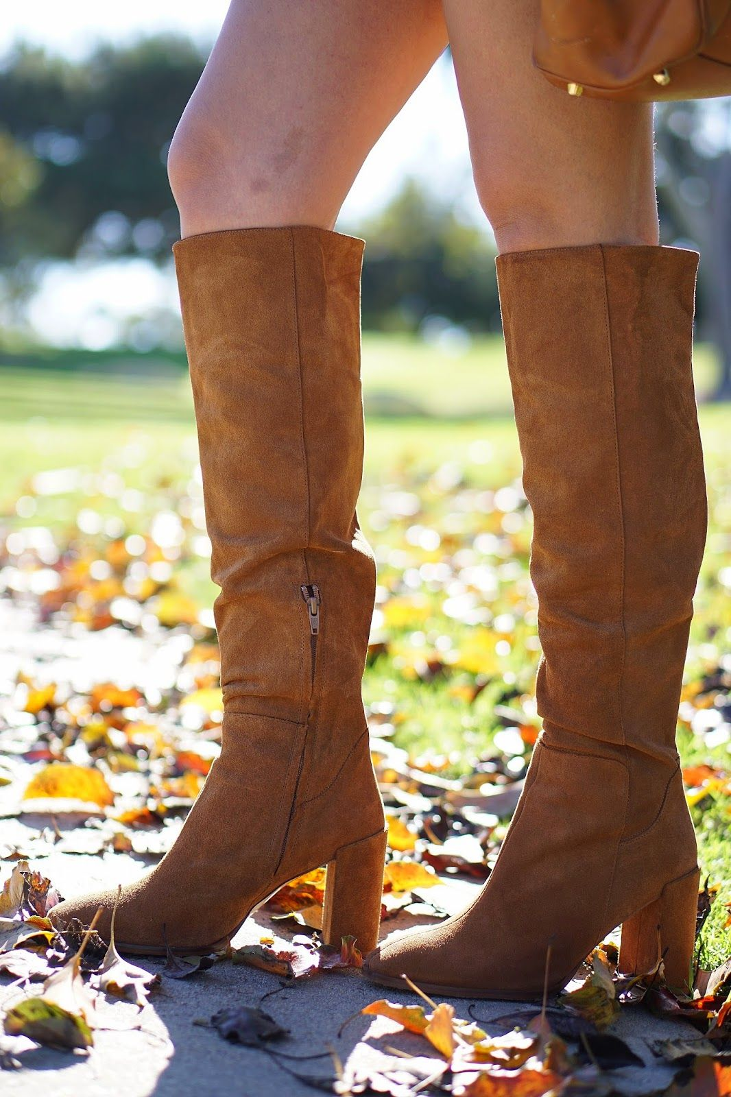 552e33fc9b4 Zara High Heeled Leather Boot, Zara Camel Colored Knee High Boot, Light  Brown Boots, How To Wear Knee High Boots With A Skirt