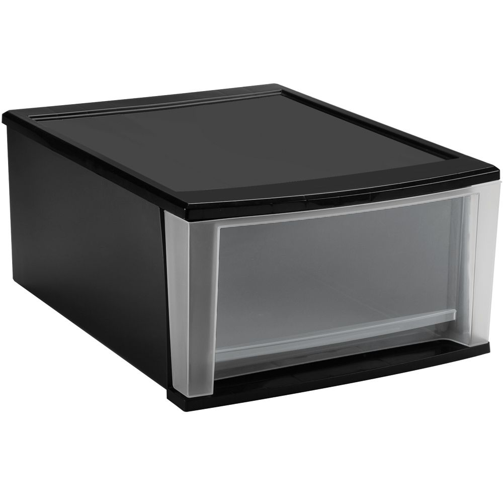 With These Stackable Plastic Storage Drawers You Can Easily See What Is  Stored Inside