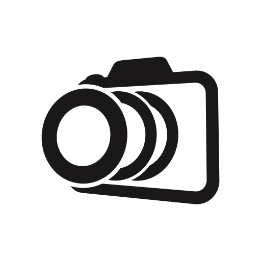 Photo Camera Outline In Perspective Variant Free Vector Icons Designed By Freepik Camera Outline Icon Vector Free