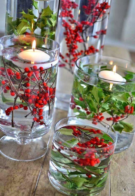22 Einfache Holly Berry Weihnachtsdekoration Ideen Diyundhaus.com