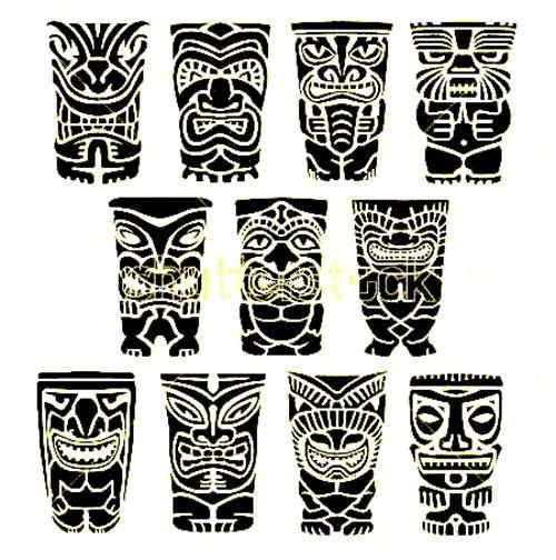 99f742f56 totem tattoo - Buscar con Google | Tiki mask ideas | Tiki tattoo ...