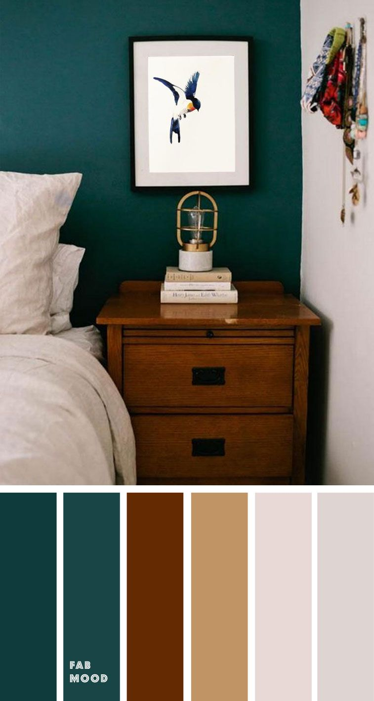 Bedroom Color Scheme Ideas Will Help You To Add Harmonious Shades To Your Home Which Give Variety And Feelings Of Calm From Beautiful Wall Col