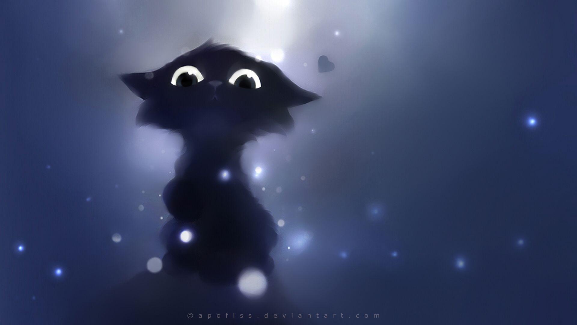 Cartoon Cute Animals Fantasy Eyes Pov Apofiss Cats Kittens