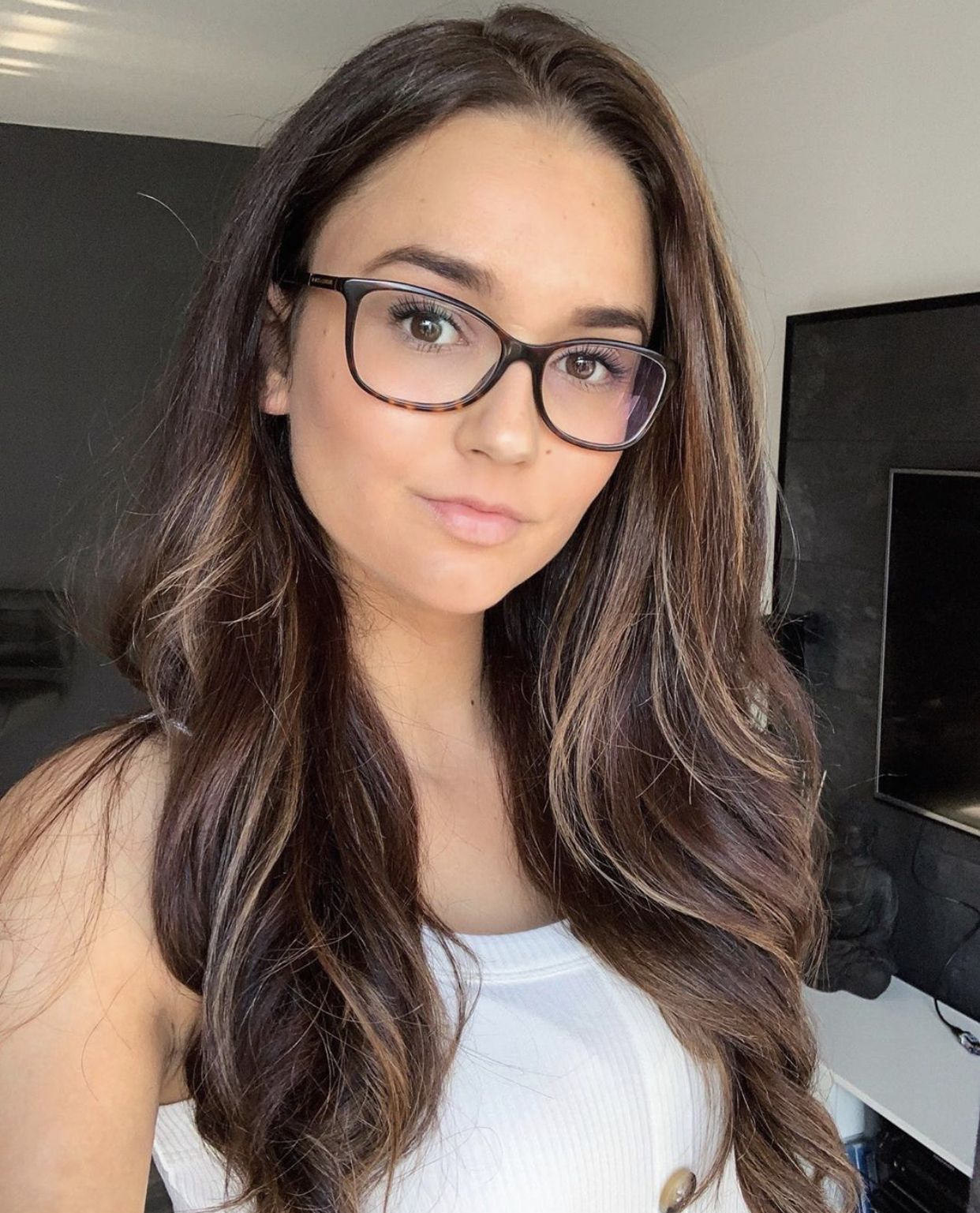 Sexy College Girl Glasses