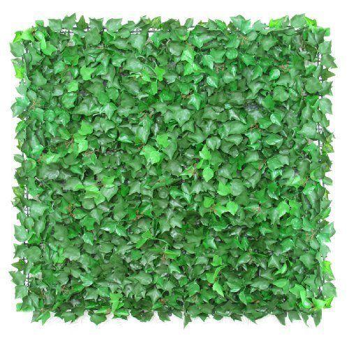 Offerta sconto 13%, spedizioe rapida x Siepe artificiale Edera English Ivy mattonelle 50x50cm ci... http://www.amazon.it/dp/B0081RCVLU/ref=cm_sw_r_pi_dp_t.Gmxb0MY76M9