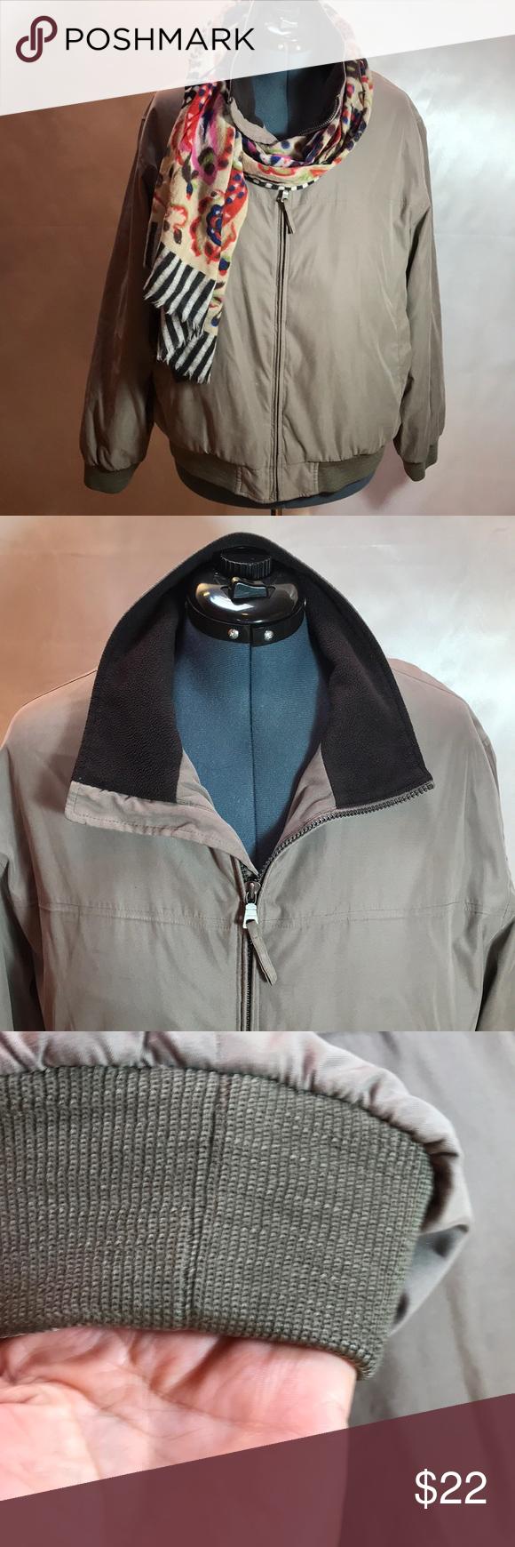 Liz Claiborne Outerwear Microfiber Fleece Jacket L Liz Claiborne Fleece Jacket Clothes Design [ 1740 x 580 Pixel ]