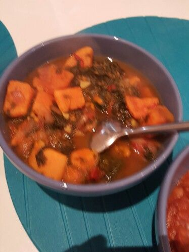 Slimming World Sweet Potato And Spinach Curry Made Loads So