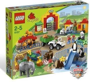 乐高LEGO 6157 得宝DUPLO 大型动物园 The Big Zoo 原装正品-淘宝网