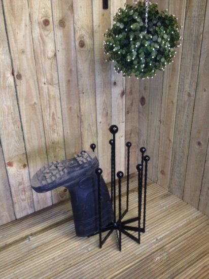 5 pairs DCB Fabrication Welly Boot holder//boot rack//boot storage Carousel
