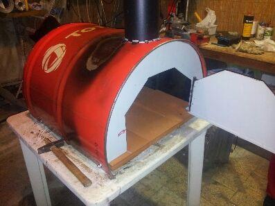 image 1 chimeneas hornos ofen pizzaofen y pizza. Black Bedroom Furniture Sets. Home Design Ideas