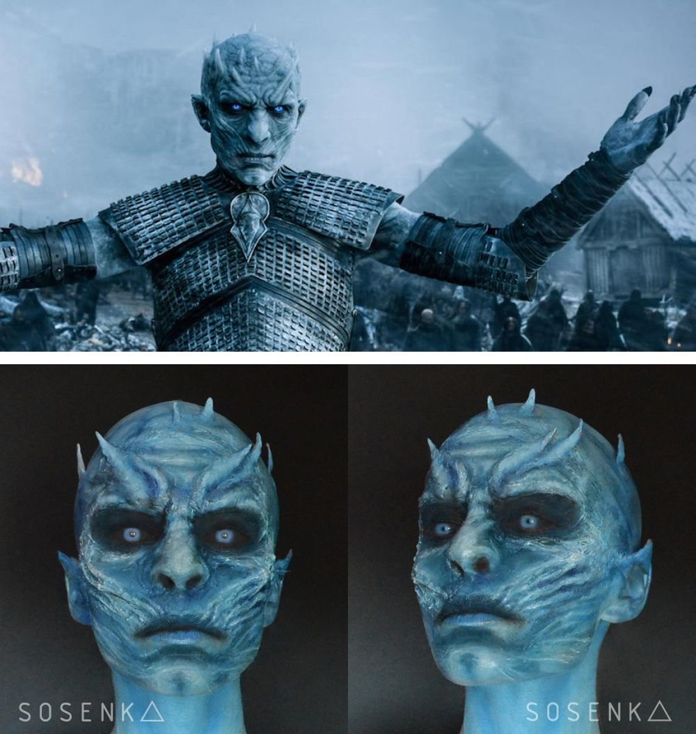 Nights kings makeup game of thrones by me facebook nights kings makeup game of thrones by me facebooksosenka baditri Images