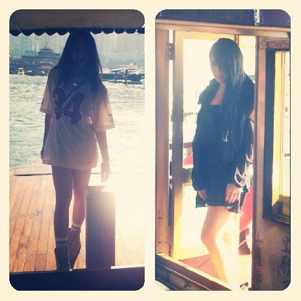 .@ms_yuen | 跟#2NE1 香港遊^^#기분이 #너무 #좋아 #ㅋㅋ...#CL #Goddess