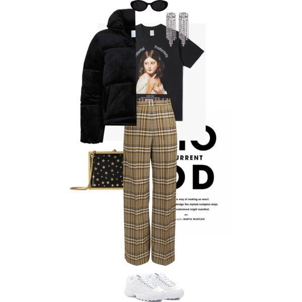 Untitled #807 by jackus on Polyvore featuring polyvore, fashion, style, Fila, Alice Olivia, Current Mood and clothing