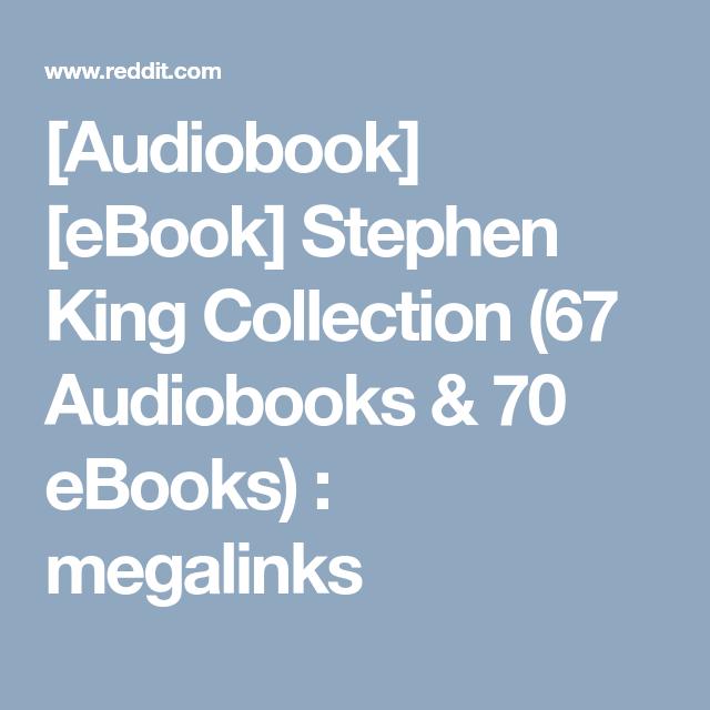 Audiobook] [eBook] Stephen King Collection (67 Audiobooks
