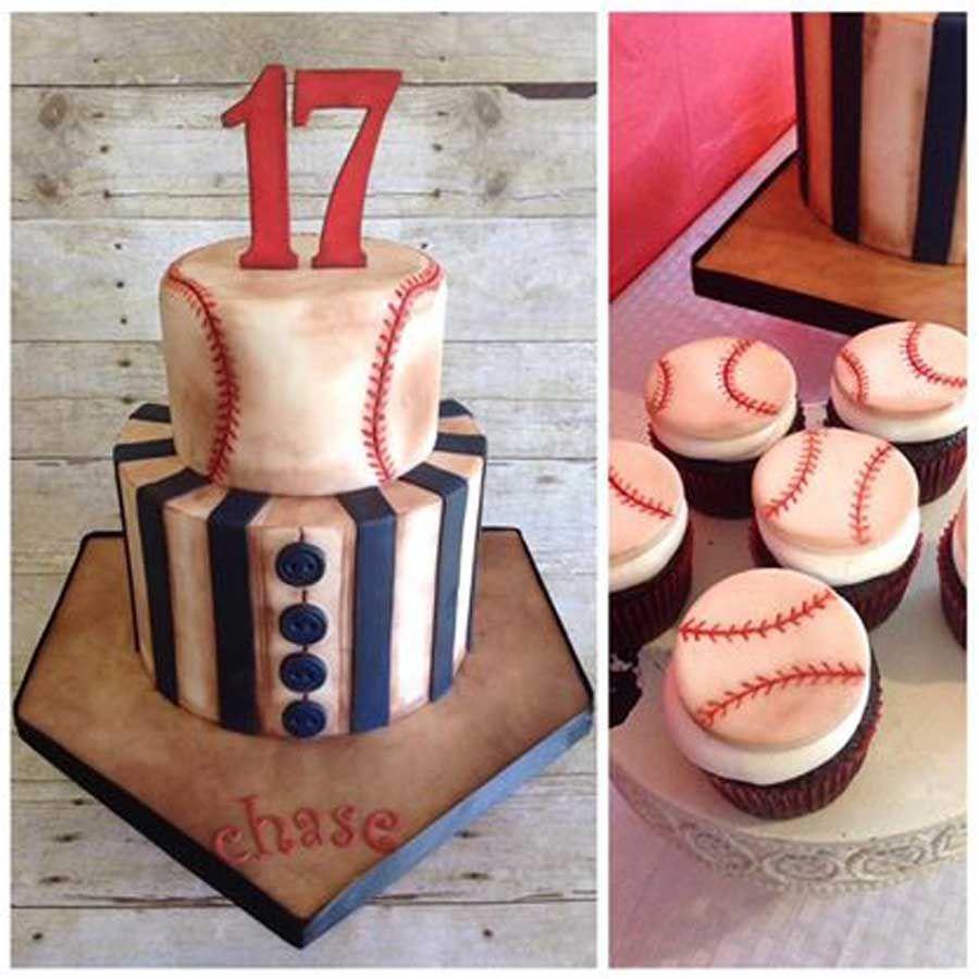 Birthday cakes celebrations by sonja baseball birthday