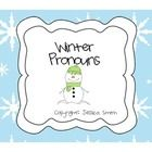 I can never have enough pronoun stuff!!!!!    This activity was created by Jessica Smith, M.Ed., CF-SLP.  It was created to target subjective and possessive pronouns with a winter theme.  Stude...