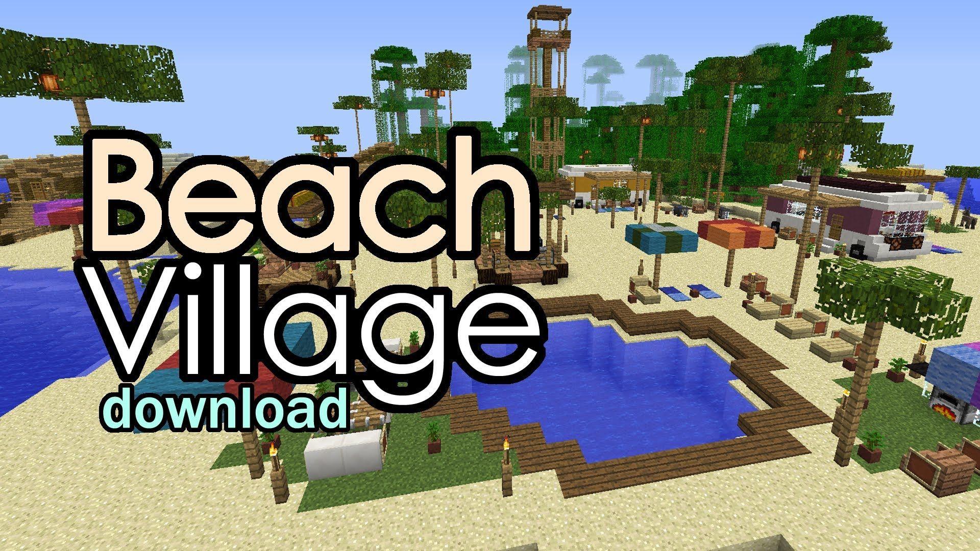 Maxresdefault Jpg 1920 1080 Minecraft Beach House Minecraft