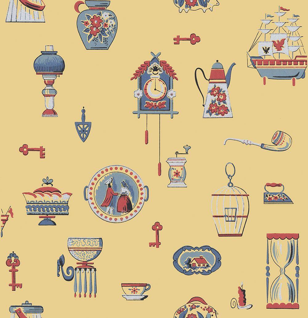 Pin by Chris Du Preez on Vintage Wallpaper Retro
