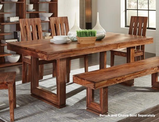 Table Only 40 X 80 Table Comfortably Accommodates Six With The Small Route Line Running Along Wooden Dining Room Table Dining Table Dinner Tables Furniture