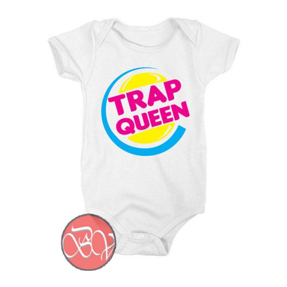 Trap Queen Baby Onesie | Cool Baby Onesie Designs ...