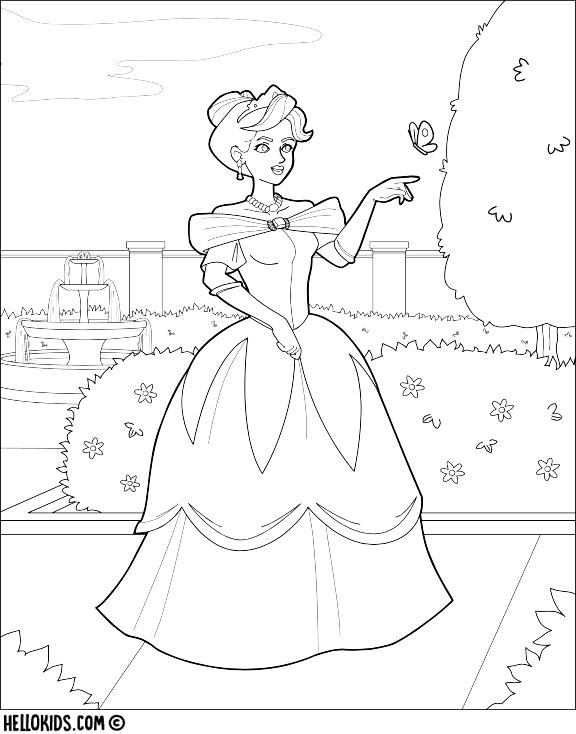 Ausmalbilder Prinzessin 654 Kostenlose Prinzessinnen Malvorlagen Ausmalbilder Prinzessin Malvorlage Prinzessin Ausmalbilder
