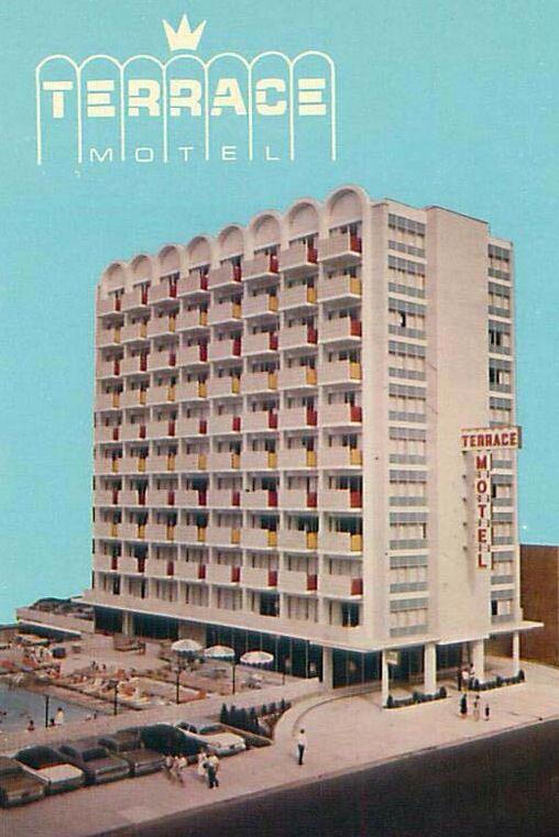 Terrace Motel Pennsylvania Ave At The Boardwalk Atlantic City Nj Atlantic City Boardwalk Atlantic City Jewel Of The Seas