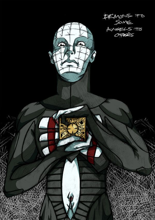 """Pinhead, """"Demons to Some. Angels to Others..."""""""