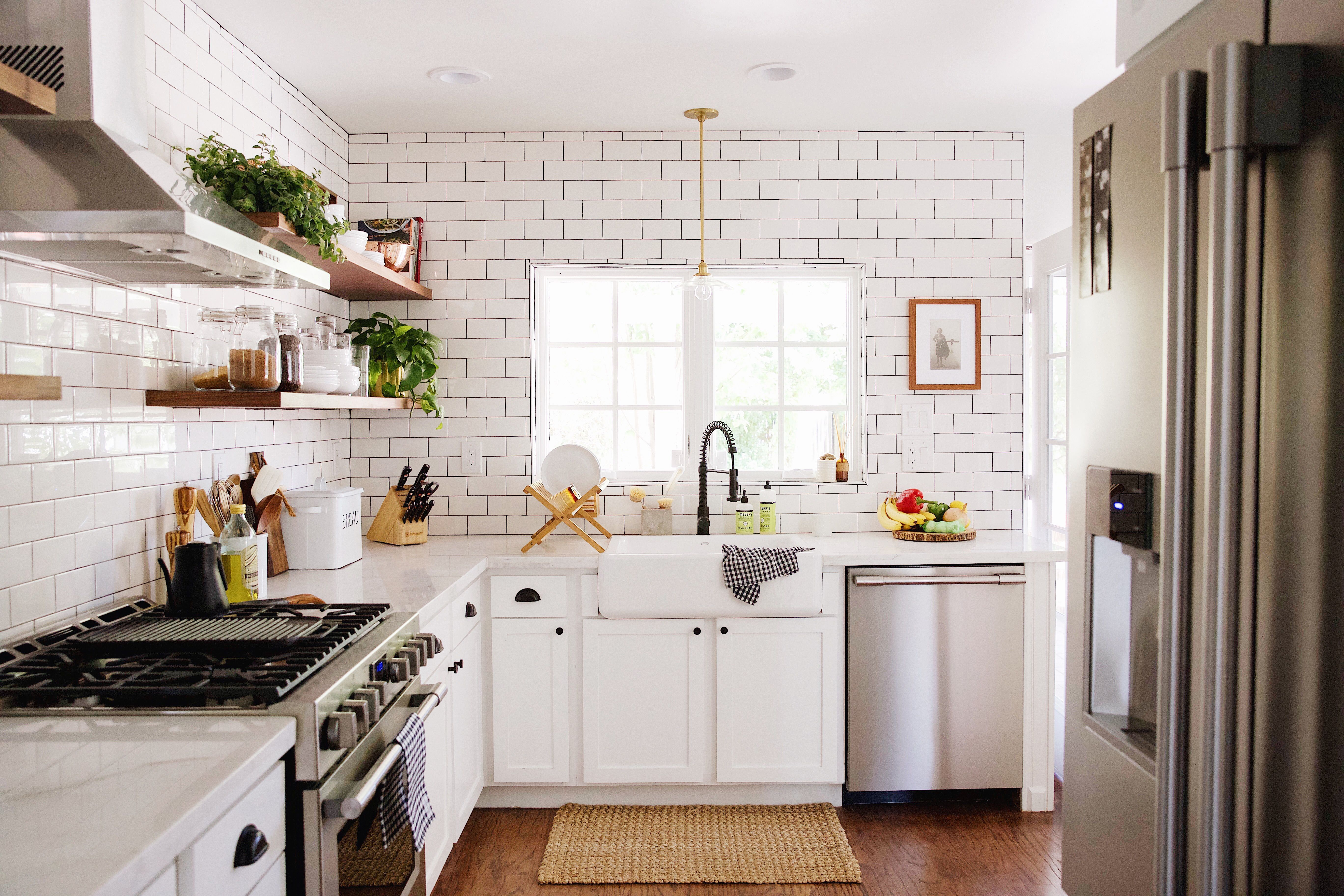 We are so happy to be sharing our kitchen makeover with you guys