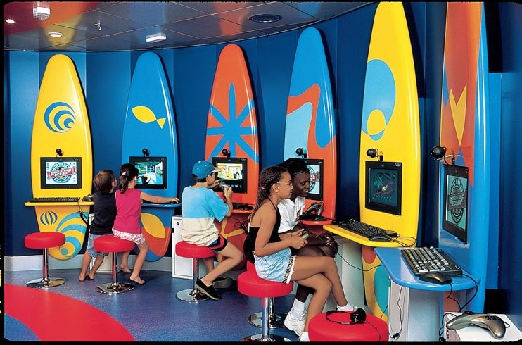 Kid's clubs on-board Royal Caribbean, fleetwide.